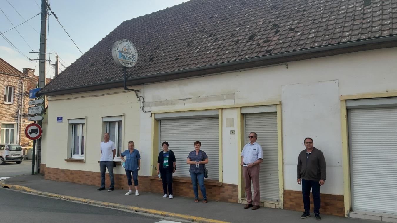 Ecques : la future épicerie est portée par tout le village