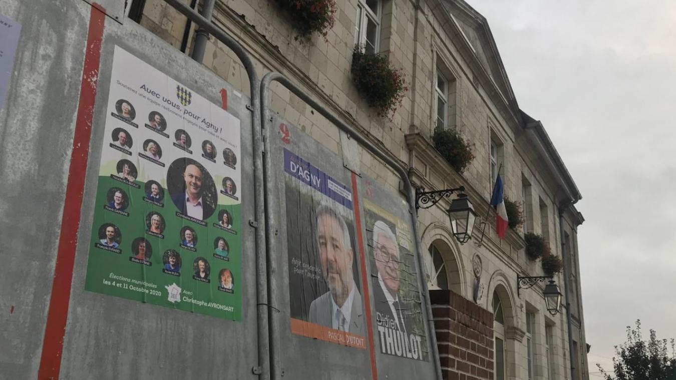Agny : le maire sortant en mauvaise passe à l'issue du premier tour