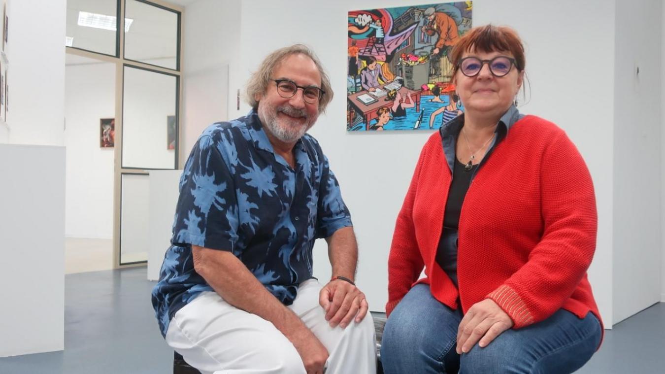 Calais : une galerie d'art vient d'ouvrir ses portes en centre-ville