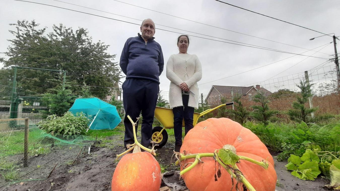 Pour une première année, le résultat est au rendez-vous pour le couple de jardiniers: 47 kilos sur la balance.