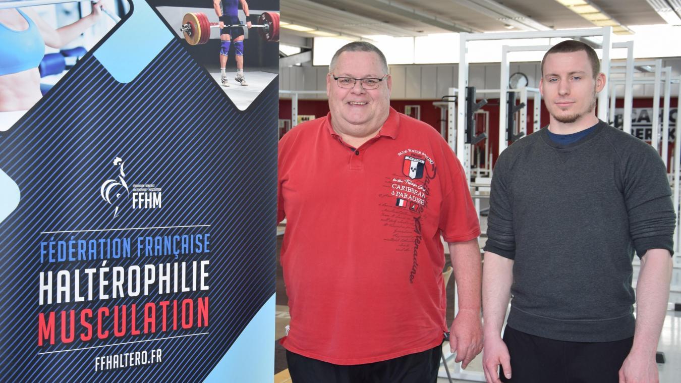 Jean-Claude et David Lapostolle dirigent le CAHC Berck.