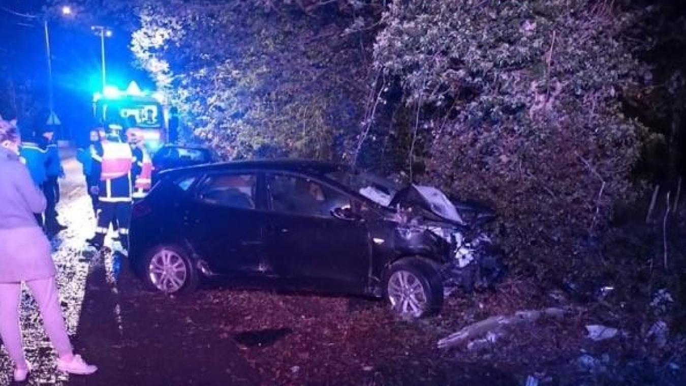 Le conducteur a perdu le contrôle de son véhicule.