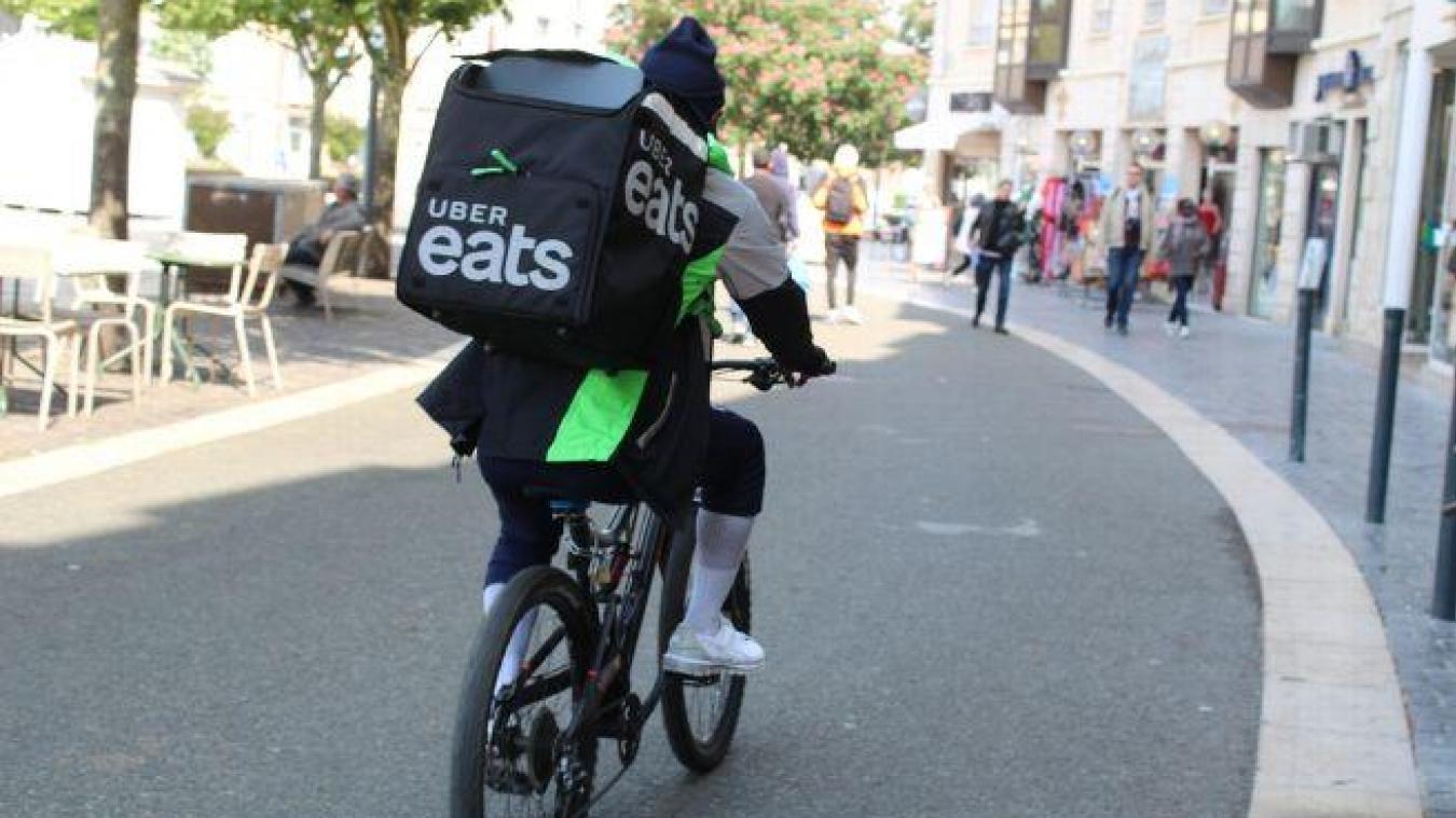 Saint-Omer : Uber Eats, ça démarre aujourd'hui !