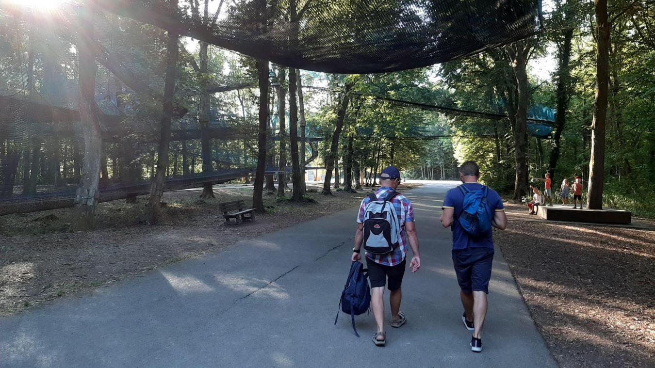 Maisnil-les-Ruitz: le parc d'Olhain, base arrière des JO 2024