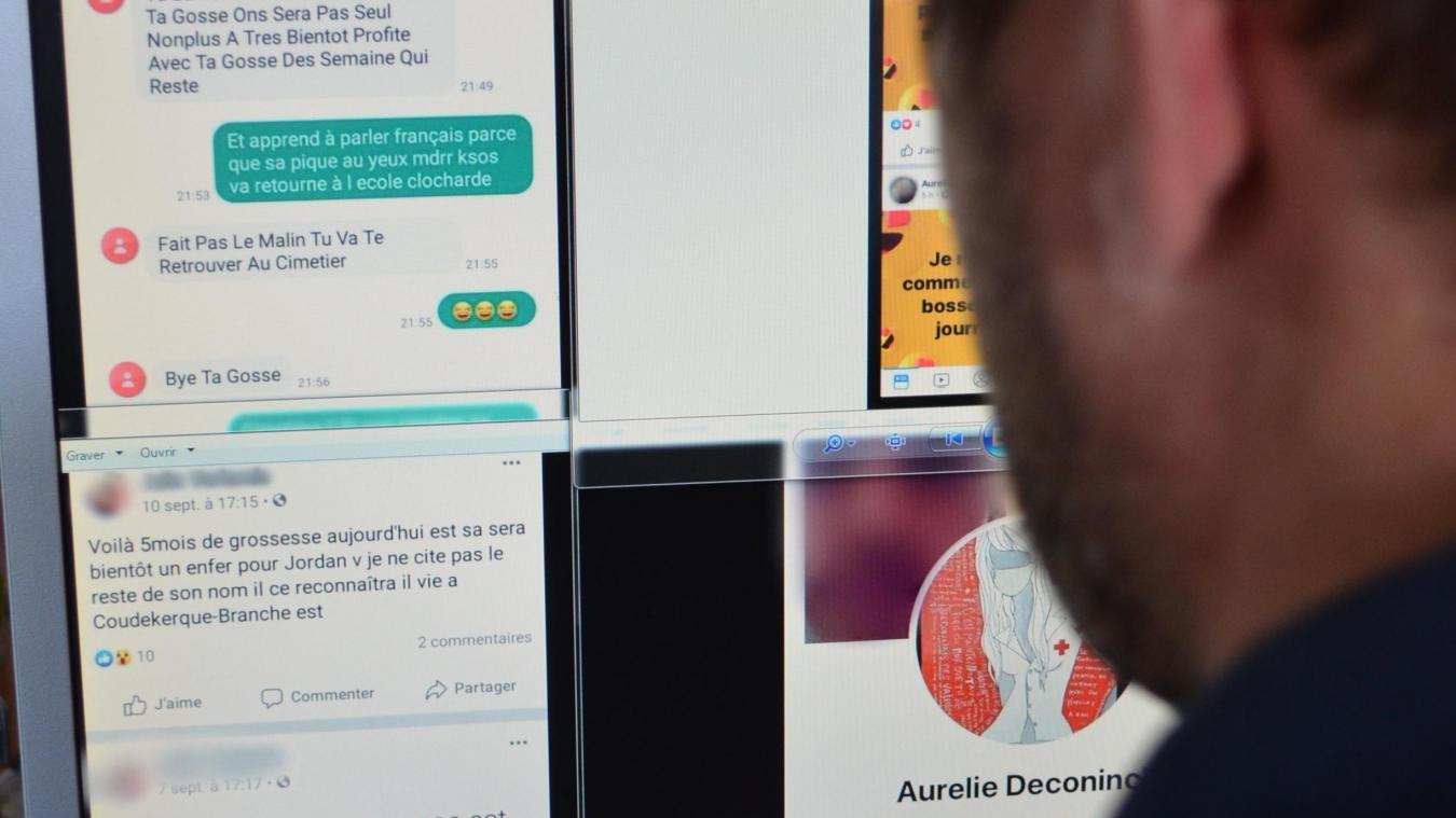 Les familles concernées ont reçu des messages insultants, voire menaçants émanant de plusieurs faux profils Facebook, tous au même nom.
