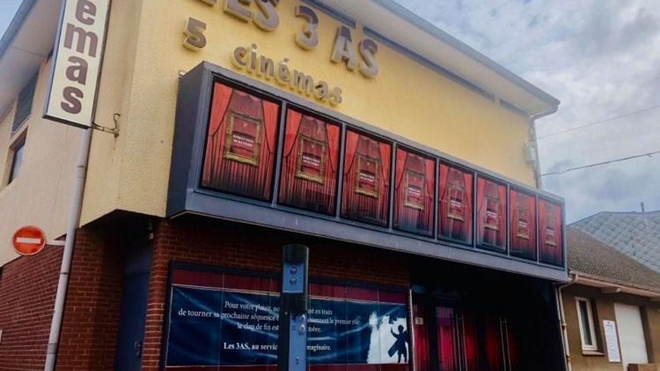 D'importants travaux de mise aux normes sont actuellement en cours au cinéma situé rue de Moscou.