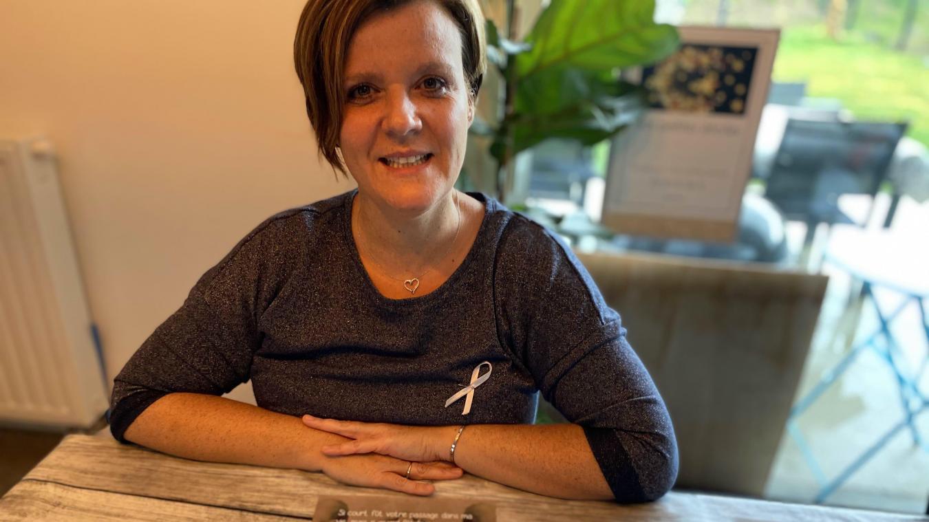 Stéphanie Delfly est la présidente de Nos petites étoiles, une association pour accompagner les parents touchés par le deuil périnatal ou par le handicap.