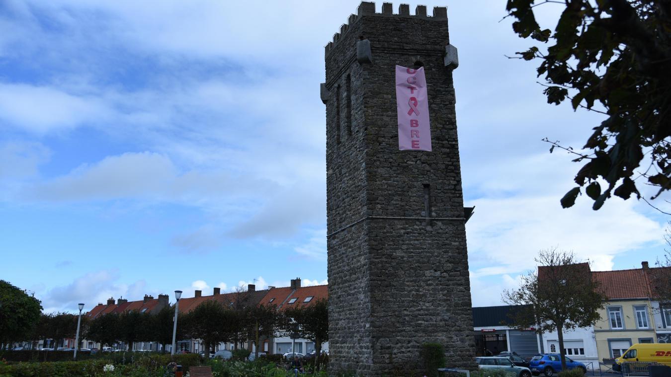 La municipalité affiche la couleur rose.