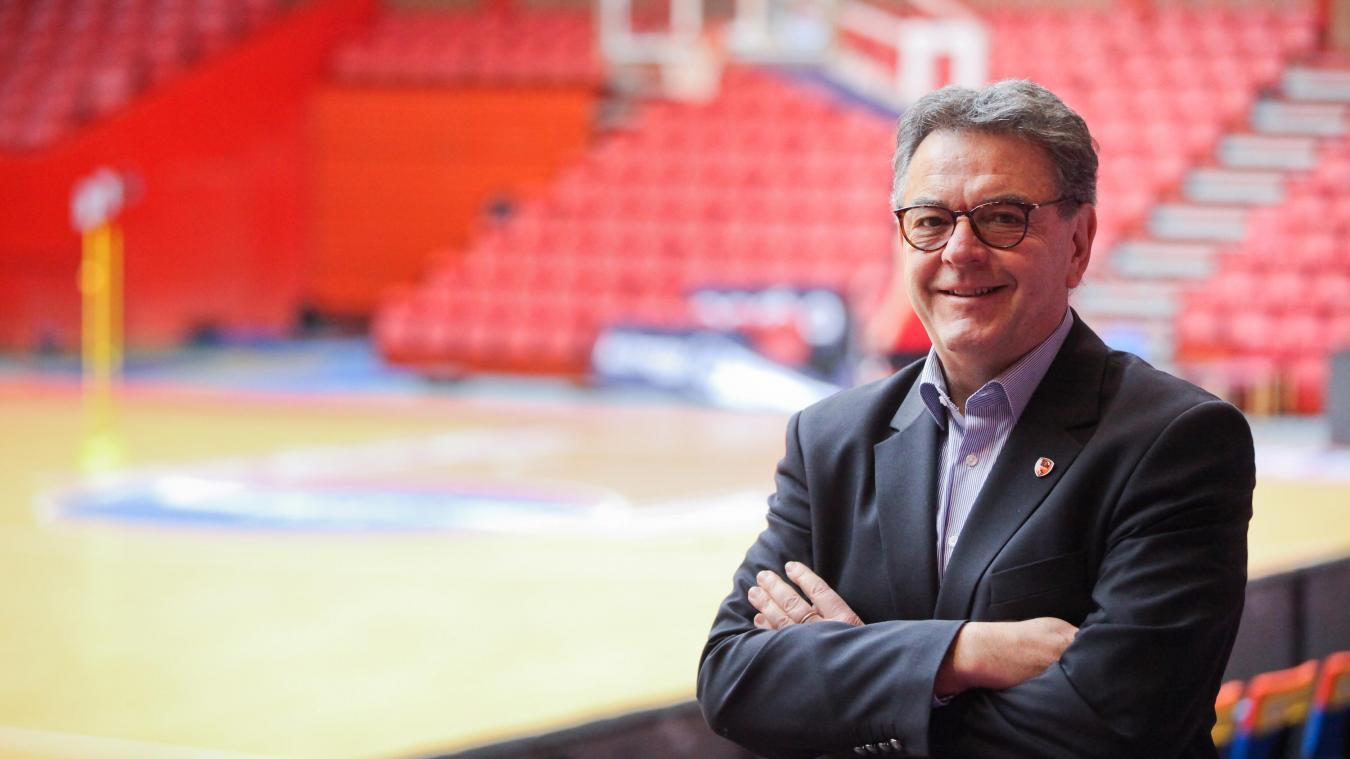 Hervé Beddeleem, directeur exécutif du BCM Gravelines « attend des jours meilleurs »