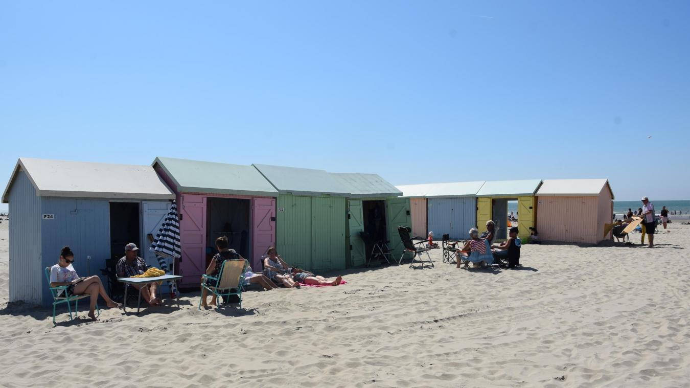 La ville de Berck met en vente des cabines de plage