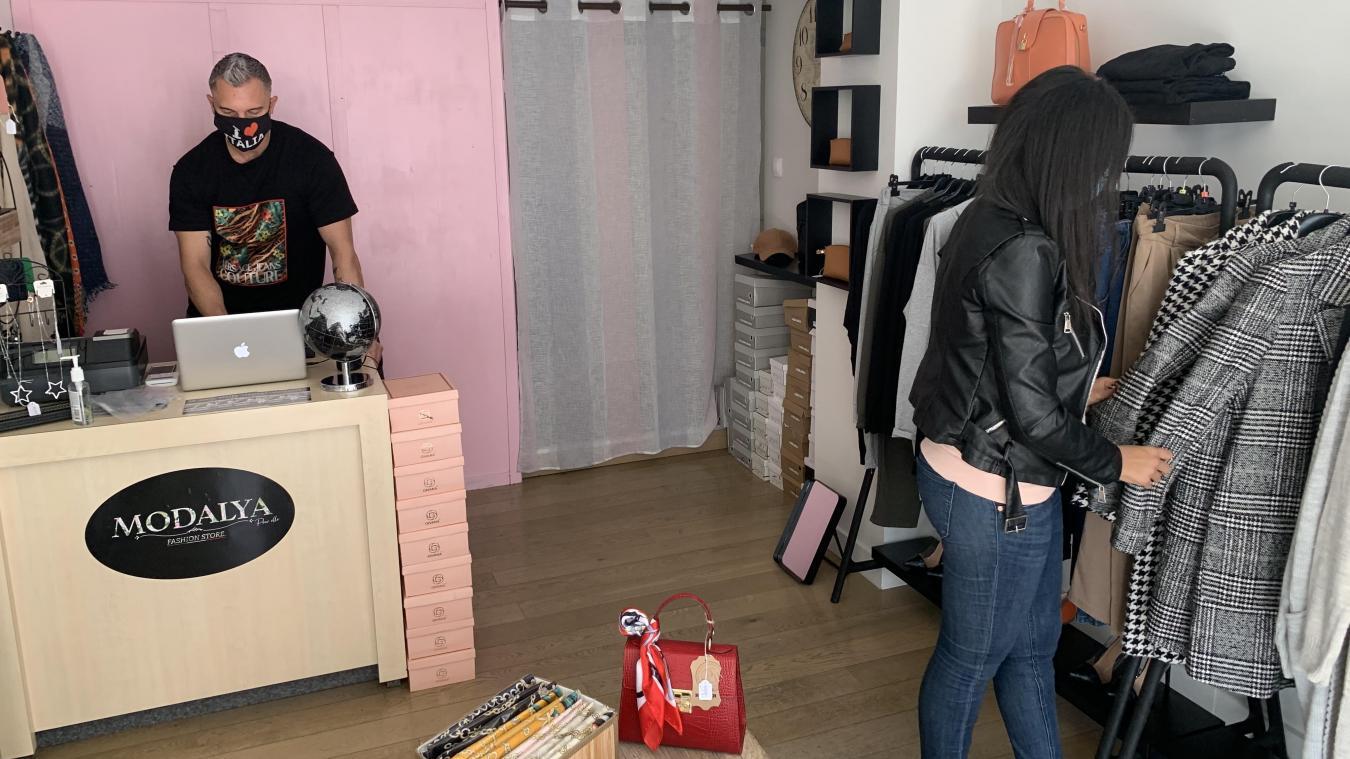 Alexandre et Ghizlane, ont ouvert leur boutique le 1 er  septembre dernier au 3 avenue de la Mer.