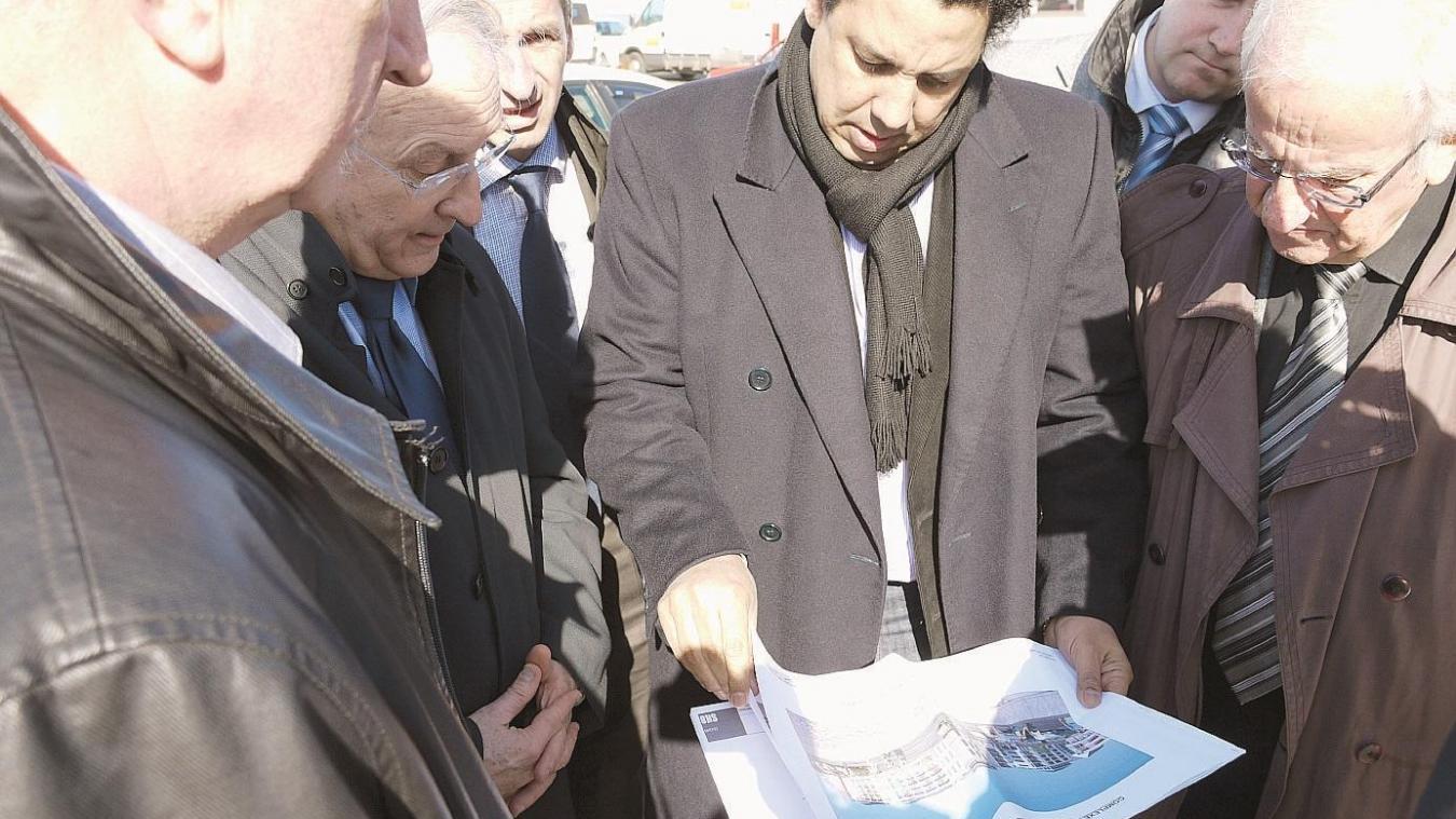 Serge Blanco était venu en mars 2013 à Berck pour présenter son projet de thalassothérapie.
