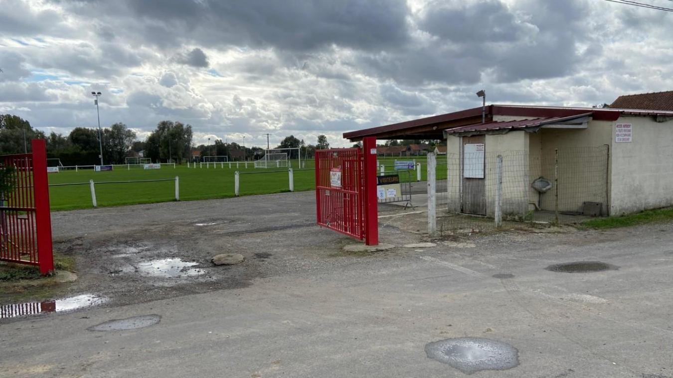 Le stade municipal de Roquetoire restera fermé jusque vendredi.