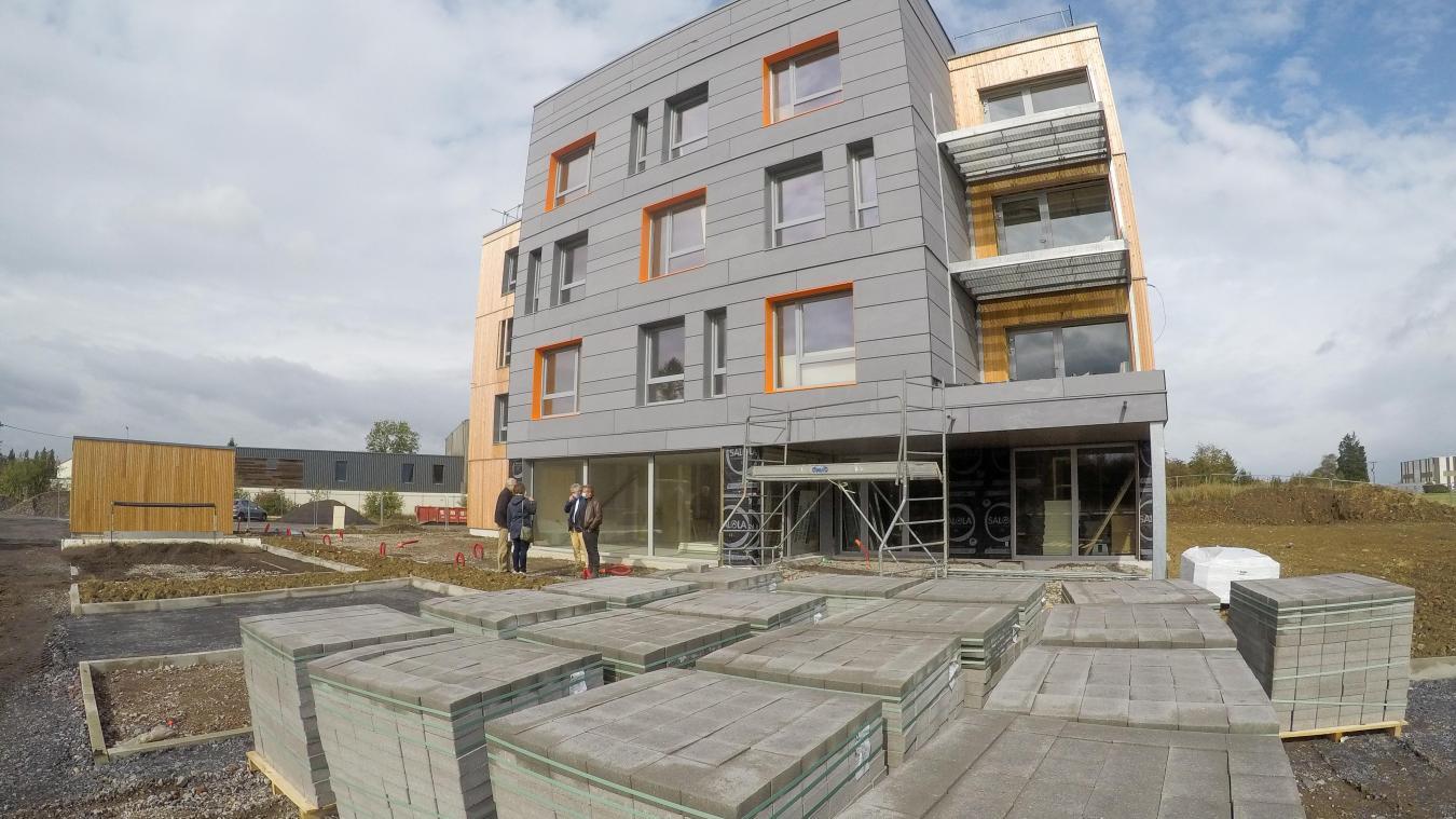 Les 26 chambres du campus étudiant devraient être terminées au mois de novembre.