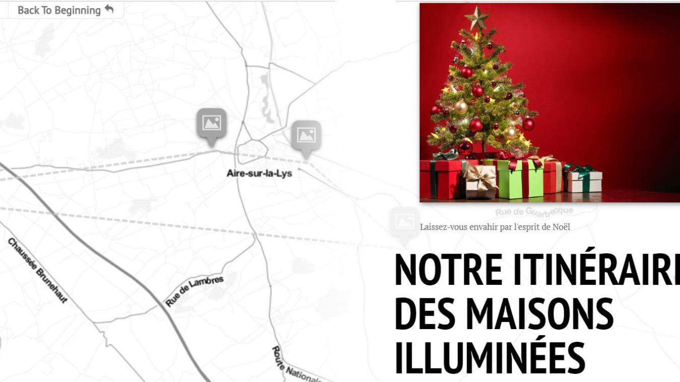 Maisons illuminées : notre itinéraire pour les visiter