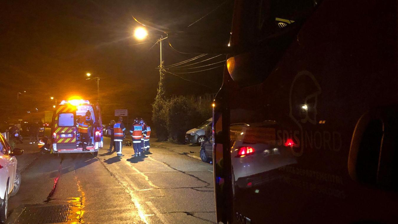 Un motard blessé dans un accident de la route à Estaires
