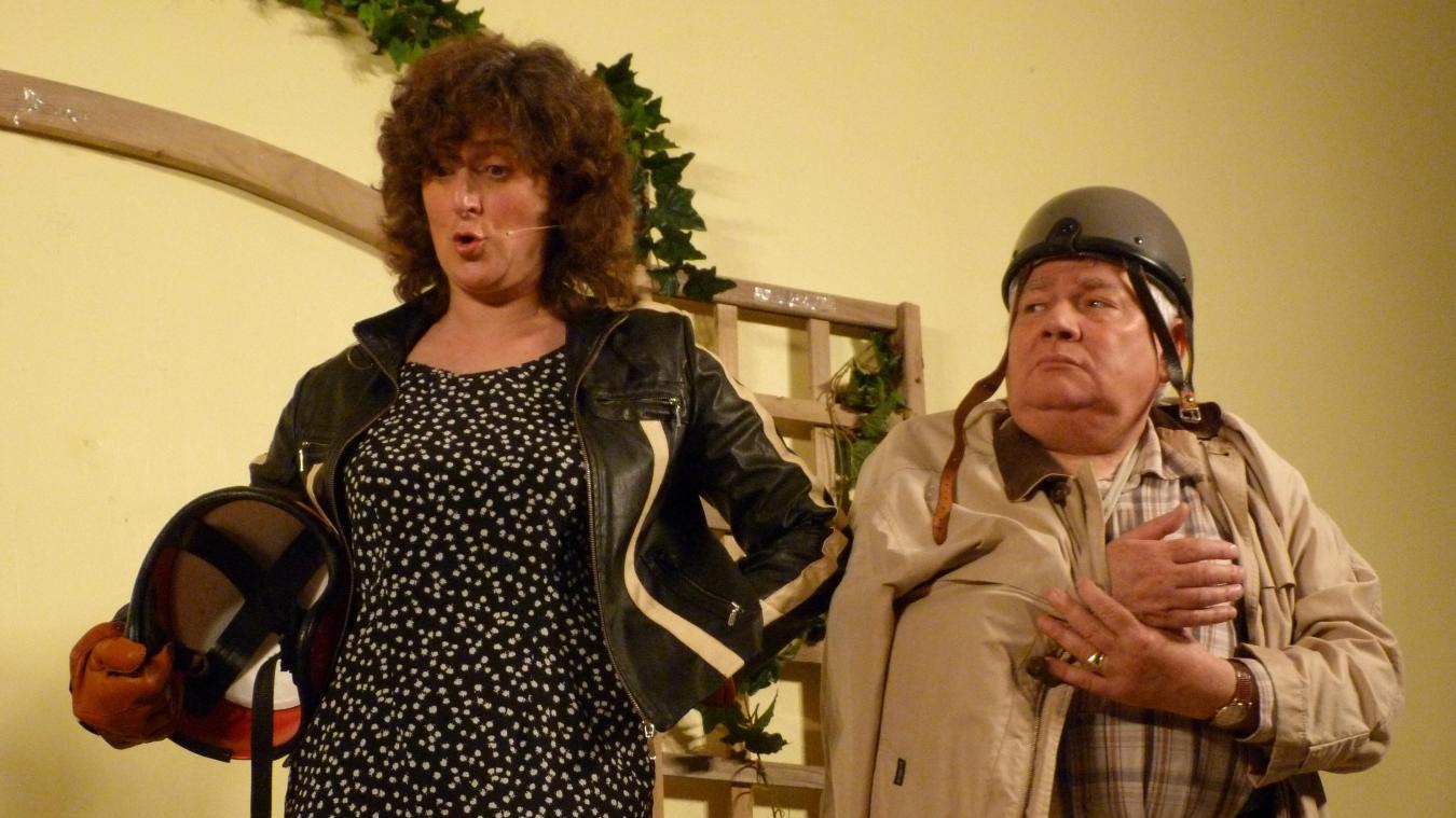 Sylvie Danger et Christian Meurdesoif, un duo qui sur scène, comme dans la vie, fonctionne à merveille.