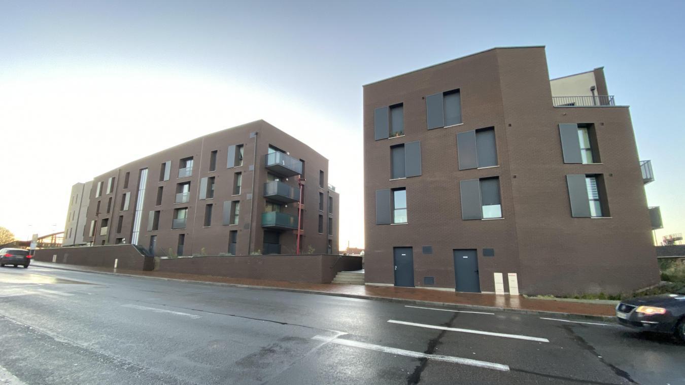 Le meurtre s'est produit au niveau de la nouvelle résidence située boulevard Abbé-Lémire à Hazebrouck.