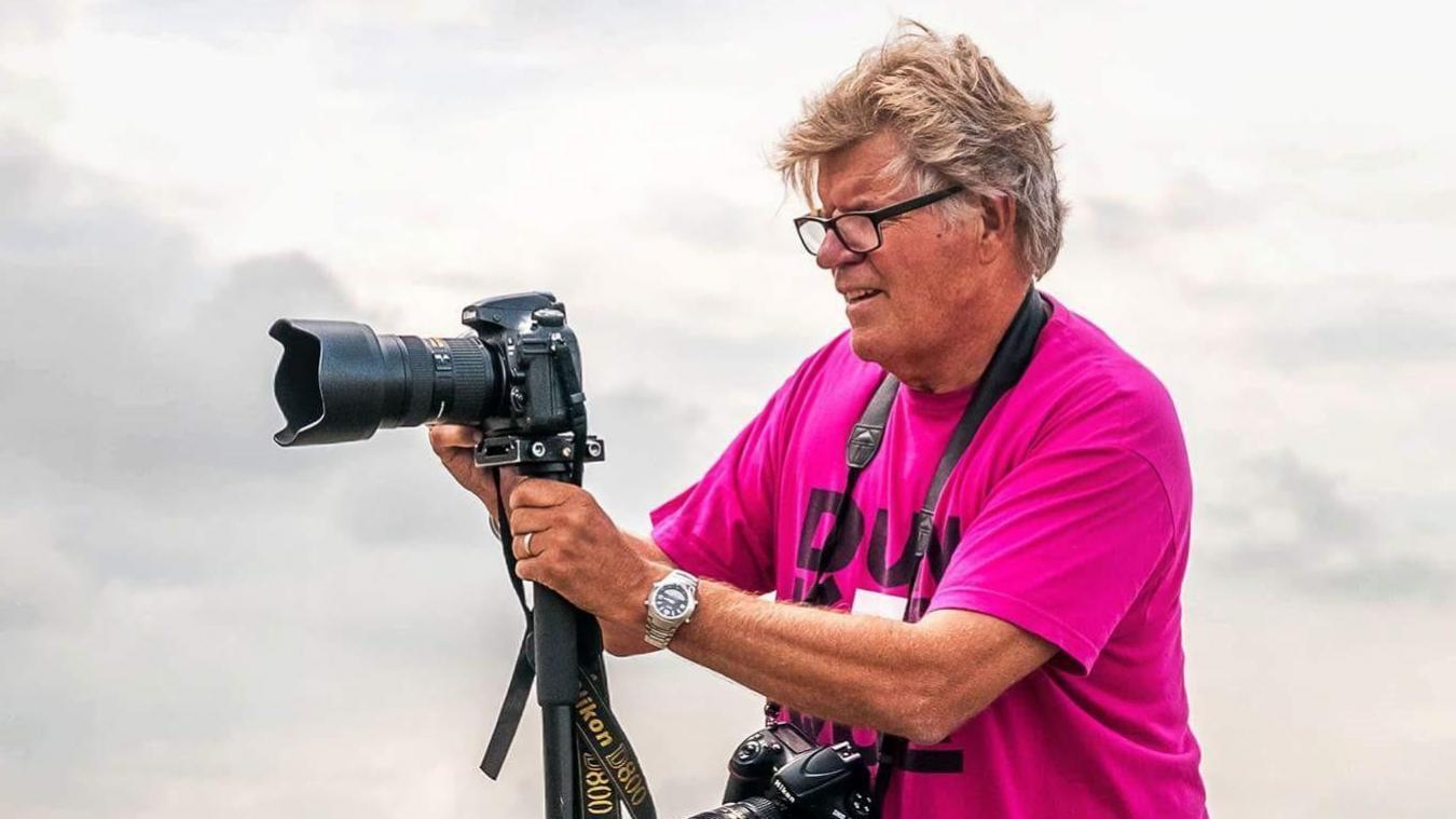 Le photographe réalise une nouvelle et belle action, en faveur du carnaval.