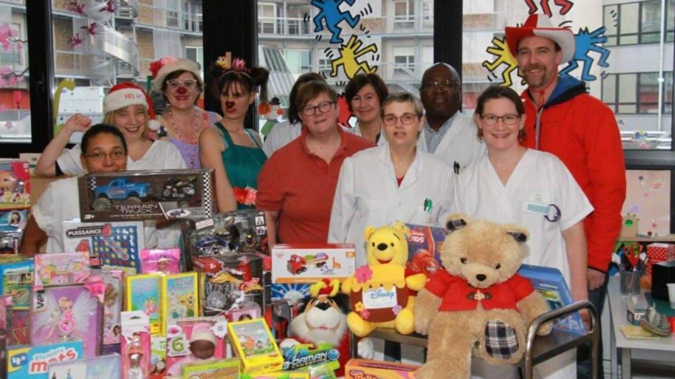 Pour la 5e année, les gérants du Manoir collectent des jouets neufs qu'ils redistribueront aux enfants hospitalisés.