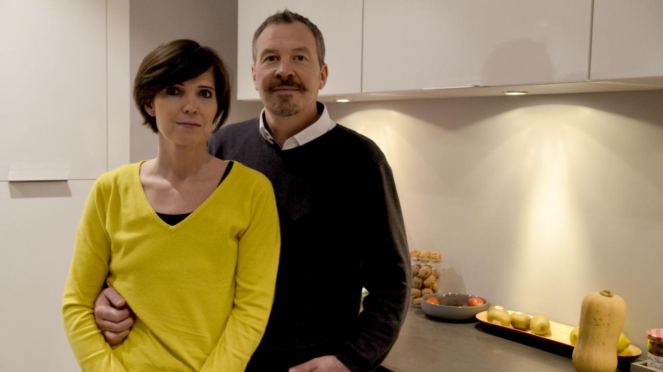 Une bonne nouvelle pour la Condettoise Sophie Dausque, ici aux côtés de son mari Dimitri, qui pourra suivre son traitement.