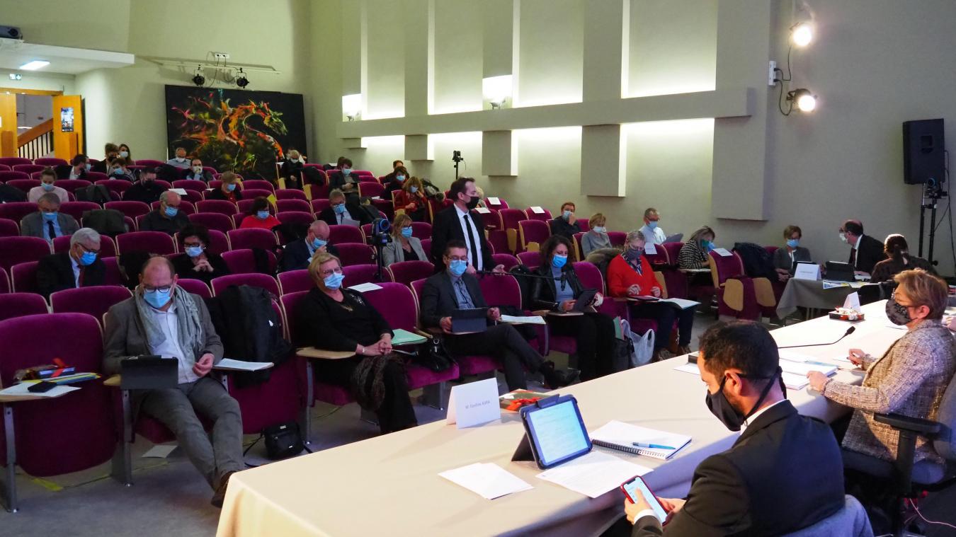 Le conseil municipal a eu lieu au musée des Beaux-Arts mardi à partir de 16h.