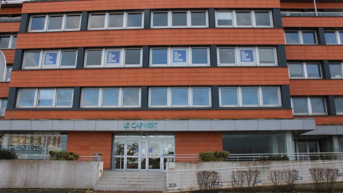 Une société s'est installée dans l'immeuble Le Cap-Vert rue Mollien à Calais dans le cadre du Brexit.