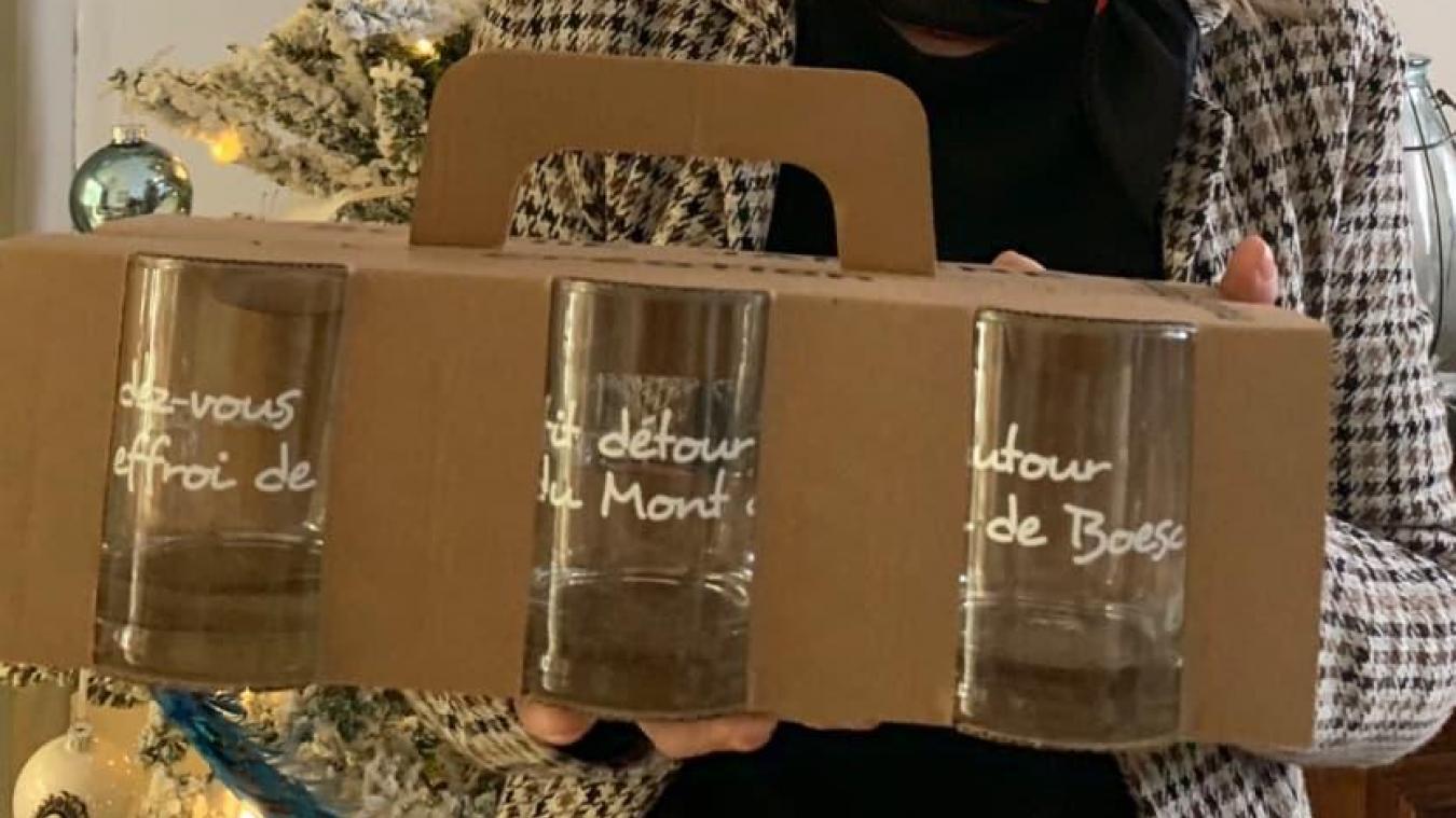 Cadeau 16 : des verres à l'effigie des Flandres