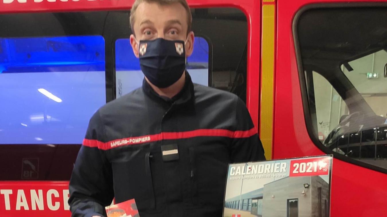 Les pompiers reprennent la vente des calendriers dès ce mercredi 16 décembre.
