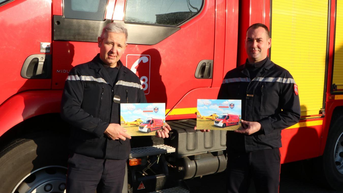 7 000 calendriers à vendre pour les sapeurs-pompiers de Vitry-en-Artois