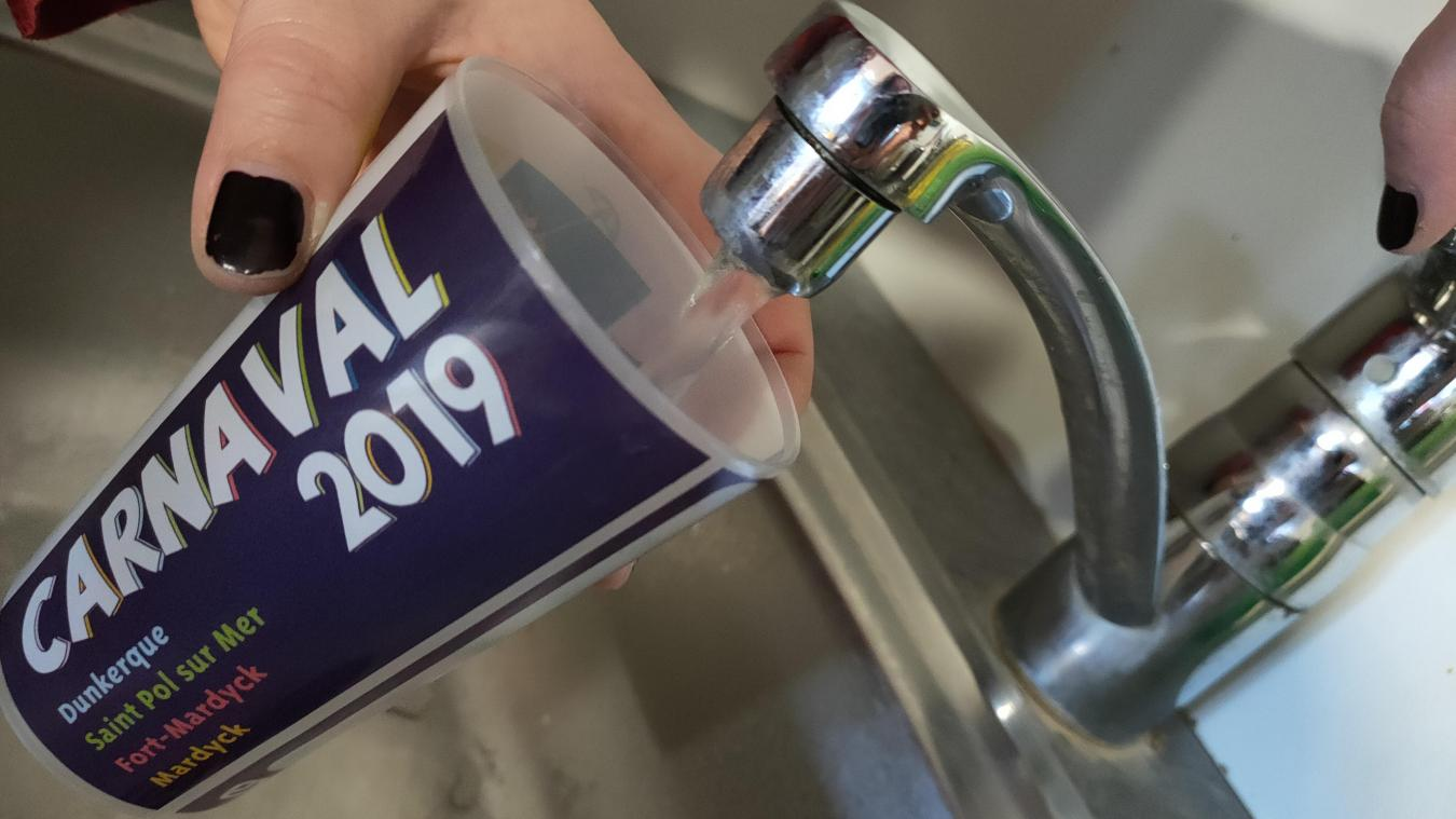 L'eau du Dunkerquois, connue pour sa qualité, n'est consommée que par 40% de la population.