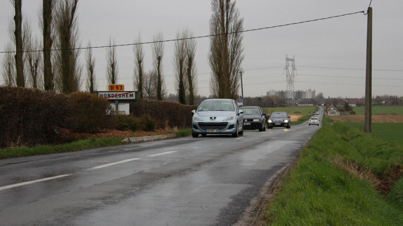 Une piste cyclable bidirectionnelle reliera Hazebrouck et Hondeghem.