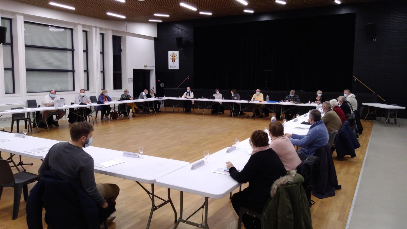Le conseil municipal s'est réuni jeudi dernier salle Simone Signoret.