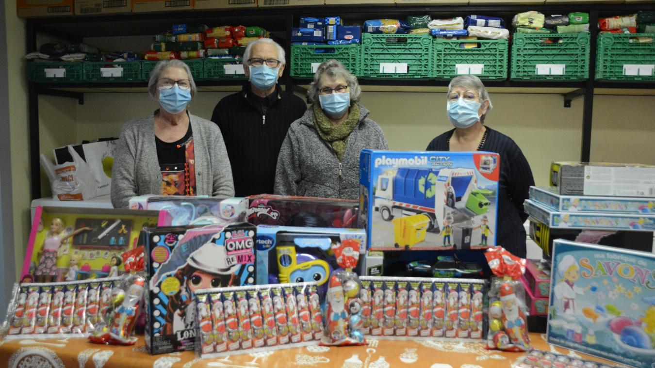 Des jouets ont été achetés grâce à un don du Rotary Club de Béthune.