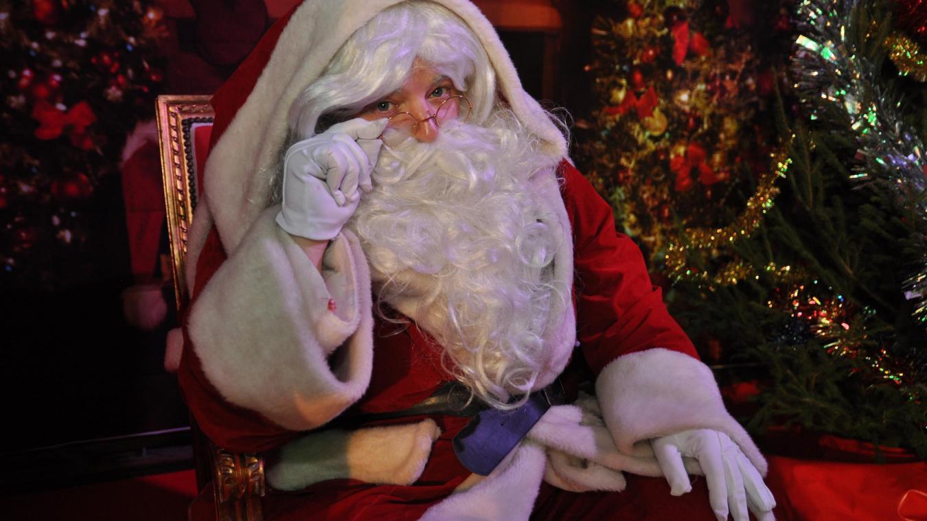 Le père Noël d'Aire-sur-la-Lys organise des visioconférences, et passera sur TF1