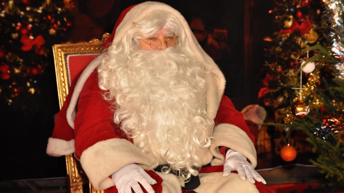 Le père Noël d'Aire-sur-la-Lys au JT de TF1 ce lundi soir