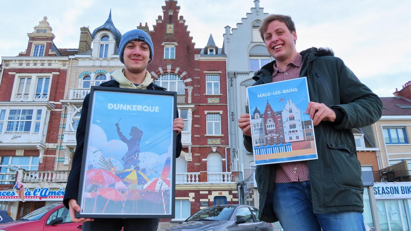 Toutes les affiches (30x40cm ; 40x60cm) et cartes postales de Pierre et Ian sont à retrouver sur leur site Internet  : <a href=http://www.les-givres.fr>www.les-givres.fr</a>