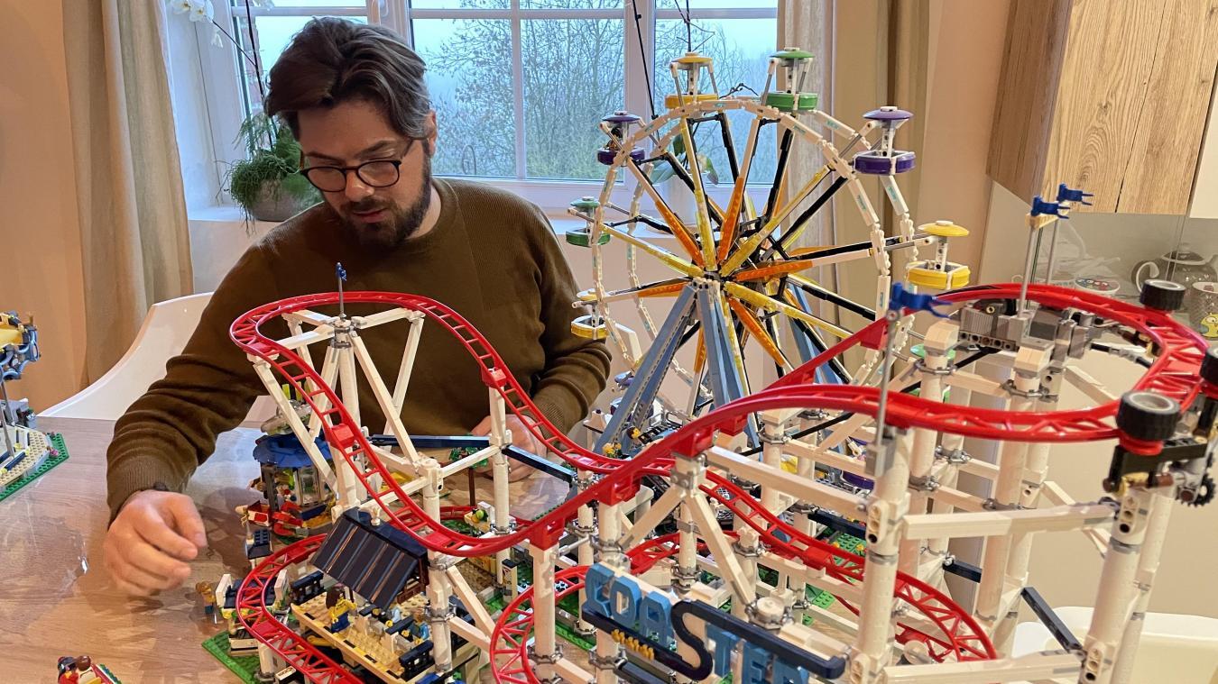 Johan va devoir construire le plus beau parc d'attractions possible pour se qualifier.