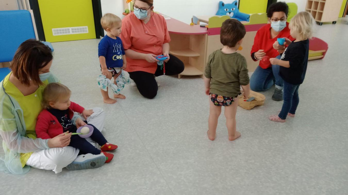 Les enfants évoluent dans un environnement éco-responsable.