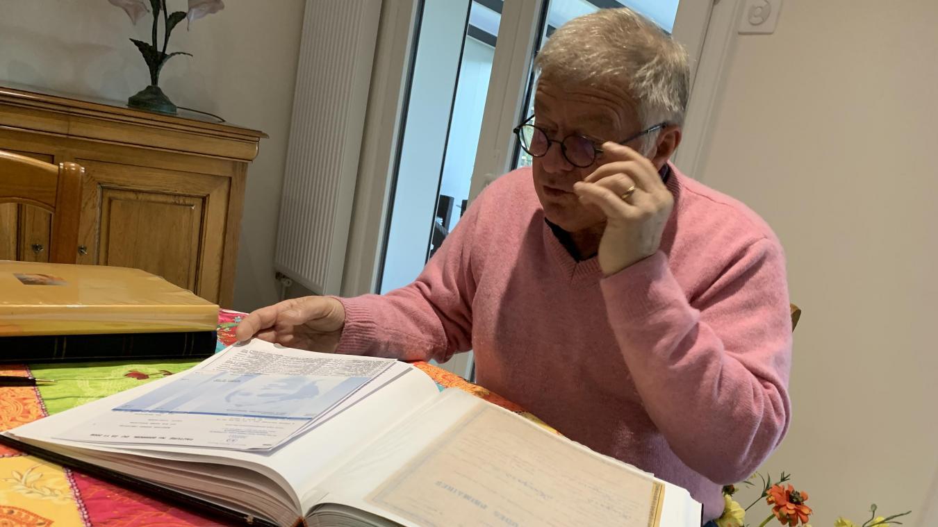 Christian se souvient que son grand-père s'était présenté aux élections municipales dans les années 1960, dans une ville qui comptait 2 000 habitants à l'époque.