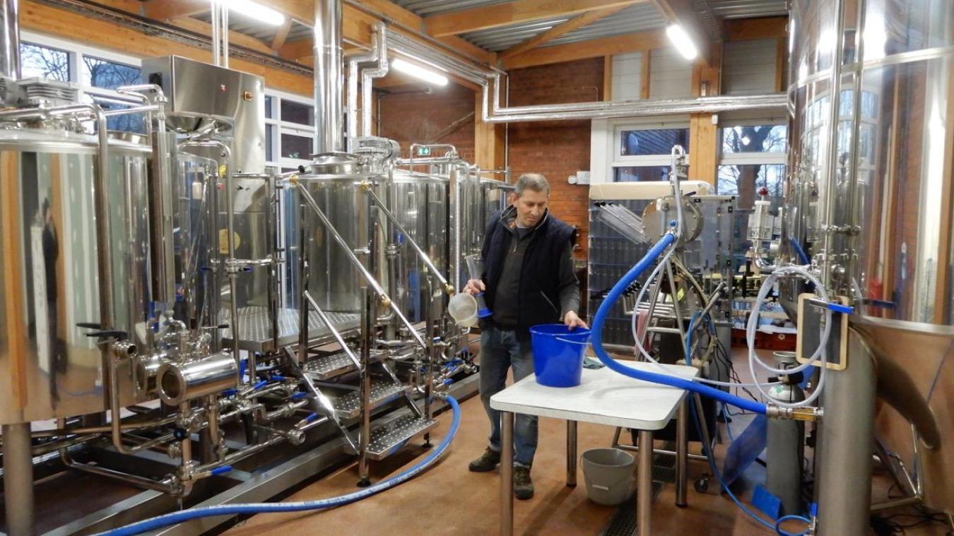 L'acier des cuves de la Brasserie des 4 écluses vient d'Isbergues.