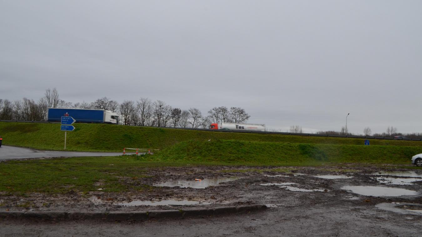 Avant même son aménagement, l'aire de covoiturage de Fresnes-lès-Montauban s'agrandit déjà