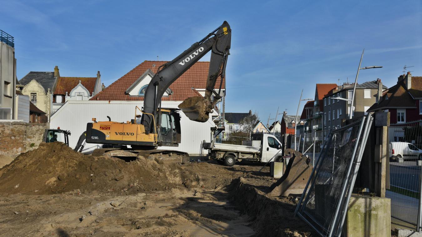 La démolition de la maison s'est achevée début de semaine dernière.