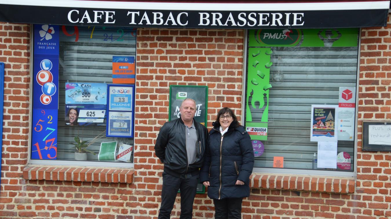 Mickaël et Marie-Hélène Busine vont reprendre le dernier café de Lestrem. Ouverture prévue fin janvier.