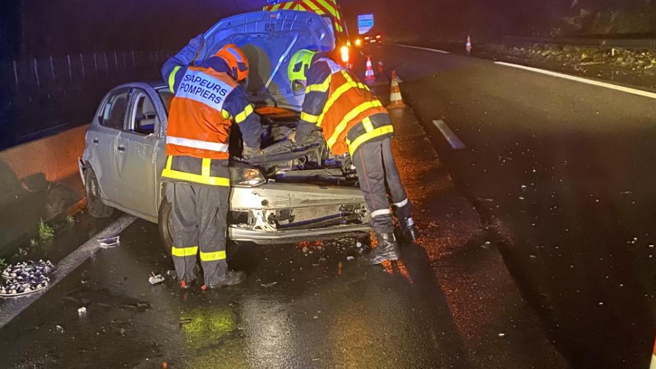 Les sapeurs-pompiers de Boulogne-sur-Mer et un infirmier sapeur-pompier de Marquise sont intervenus pour secourir la jeune femme.
