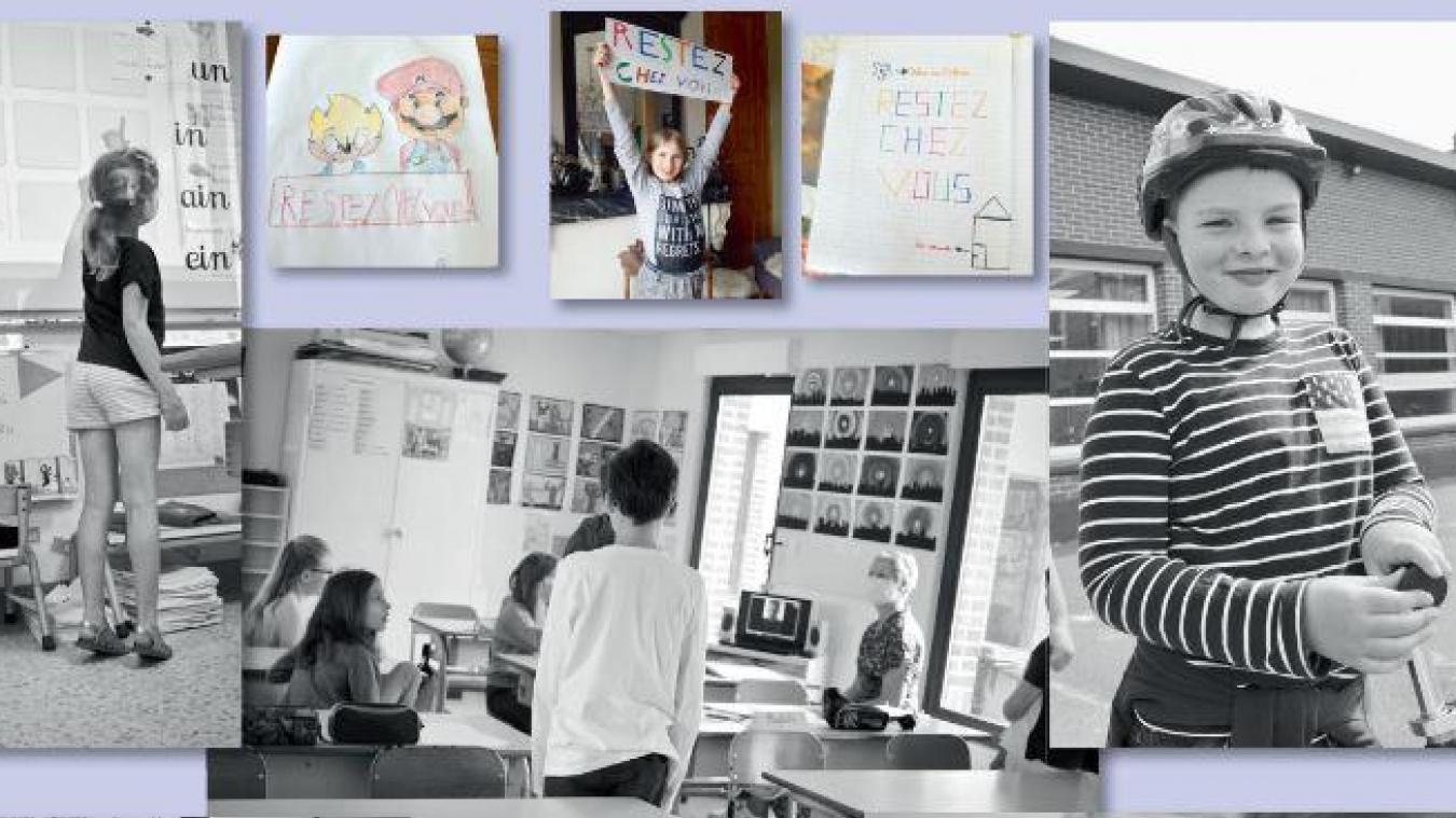 L'APEL édite son premier calendrier. Une véritable plongée dans l'intimité des classes.