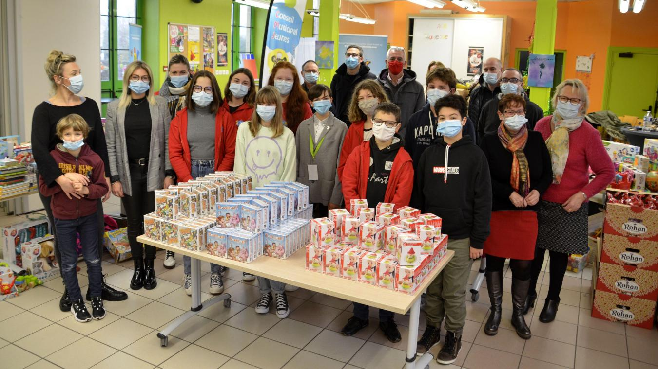 Un total de 757 dons a été recueilli par les Saint-Martinois au profit des Restos du cœur.