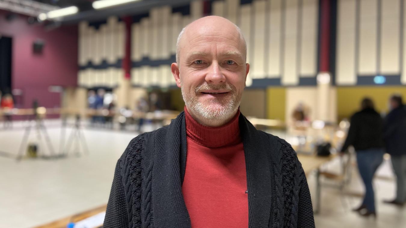 Éric Dewulf travaillera autour du dévelopemment durable et de l'écologie.