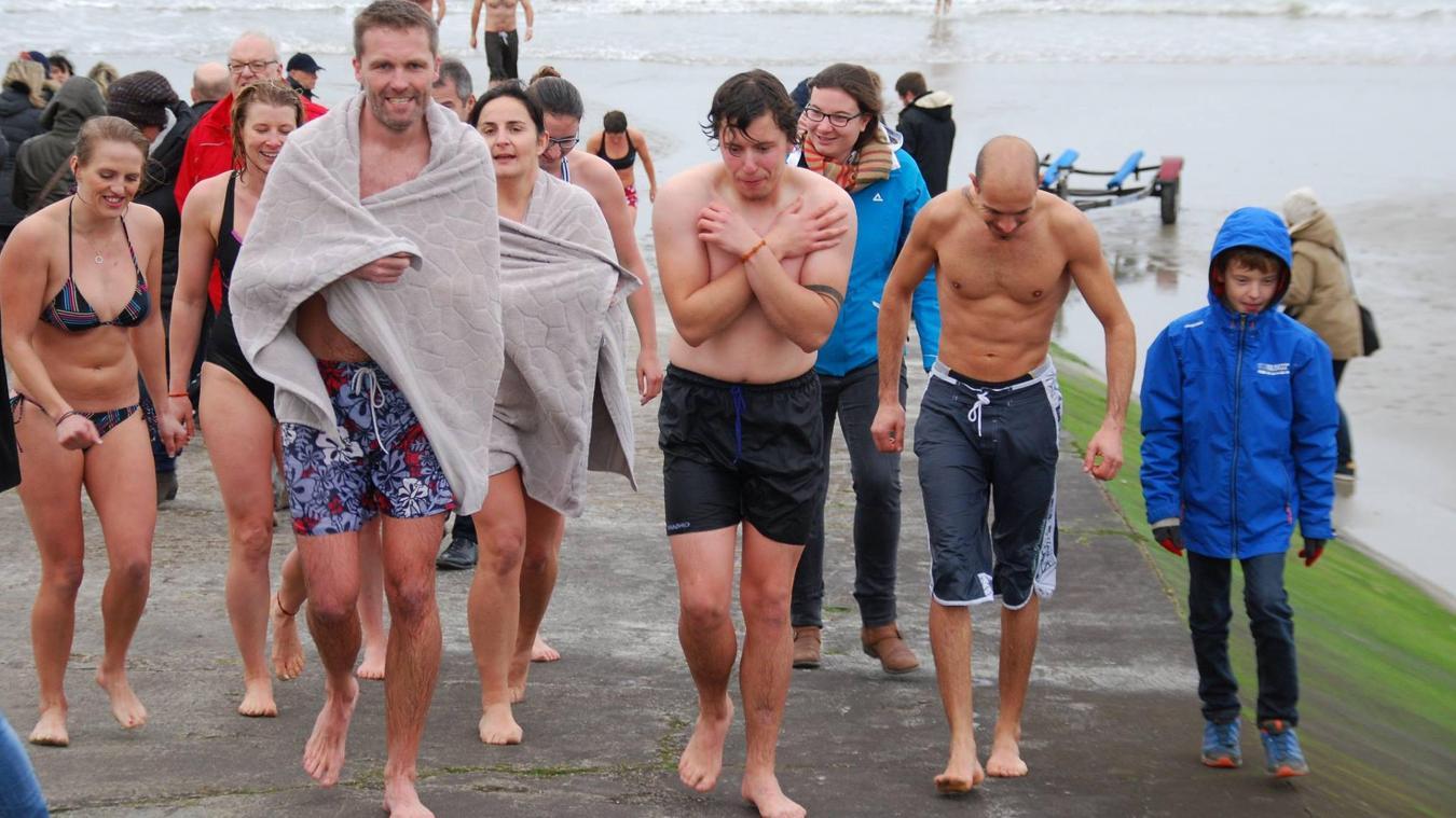 Pas de bain du Jour de l'an pour les Portelois en 2021, contexte sanitaire oblige.