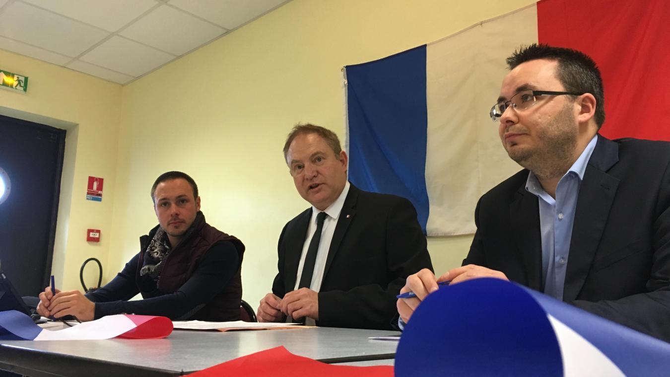 Bruno Vandamme représentait le parti lors du premier tour des élections municipales à Grand-Fort-Philippe.